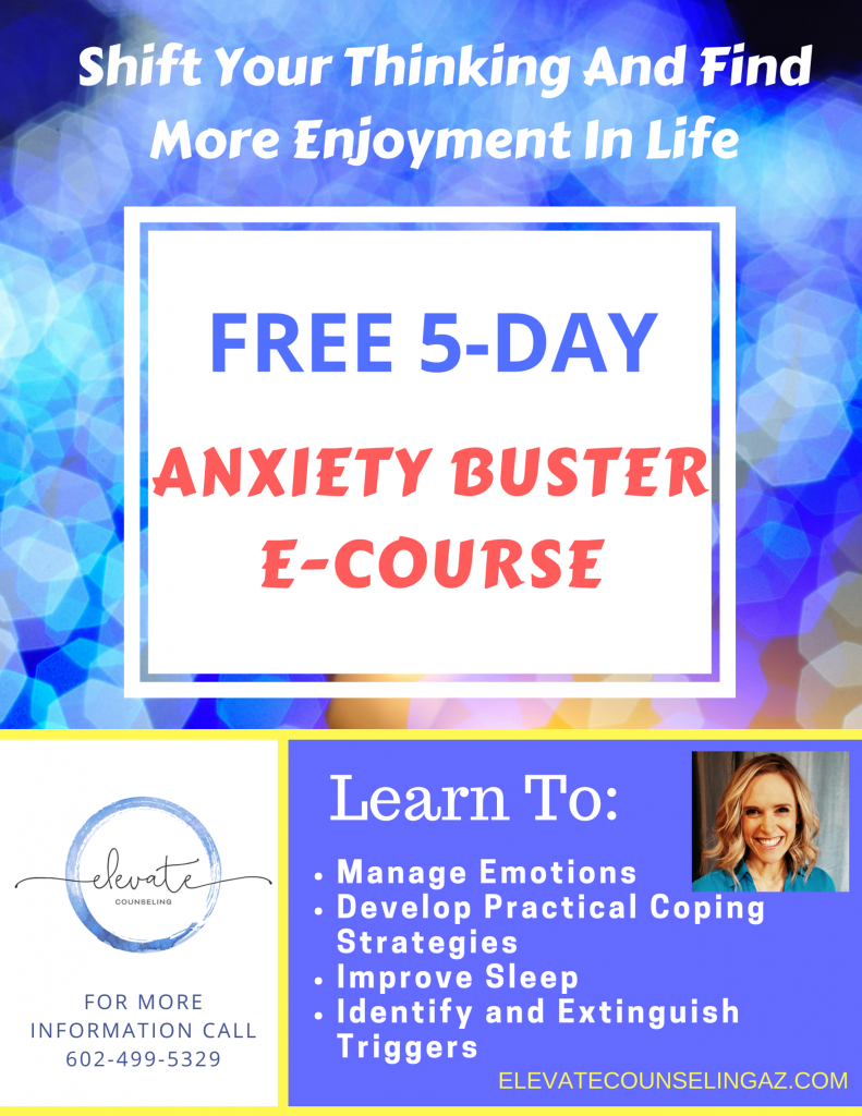 Elevate Counseling Anxiety E-Course